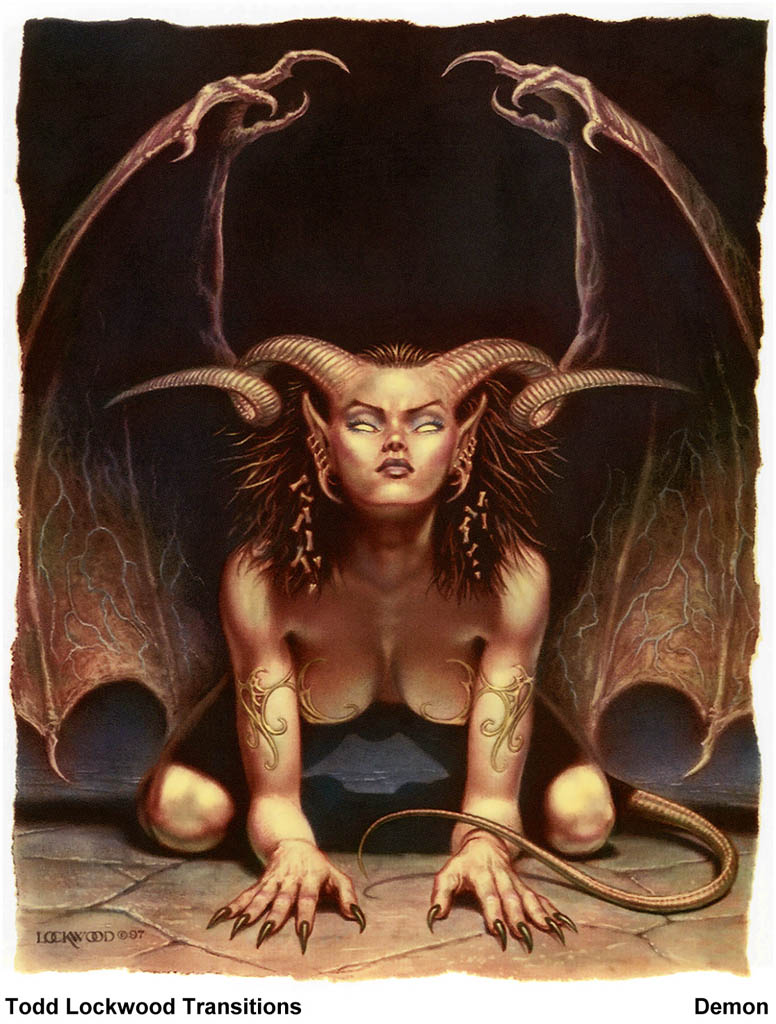 Succubus and demon sex pic