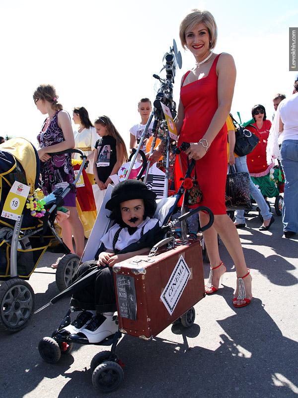 Парад колясок 2010 в городе Волгограде