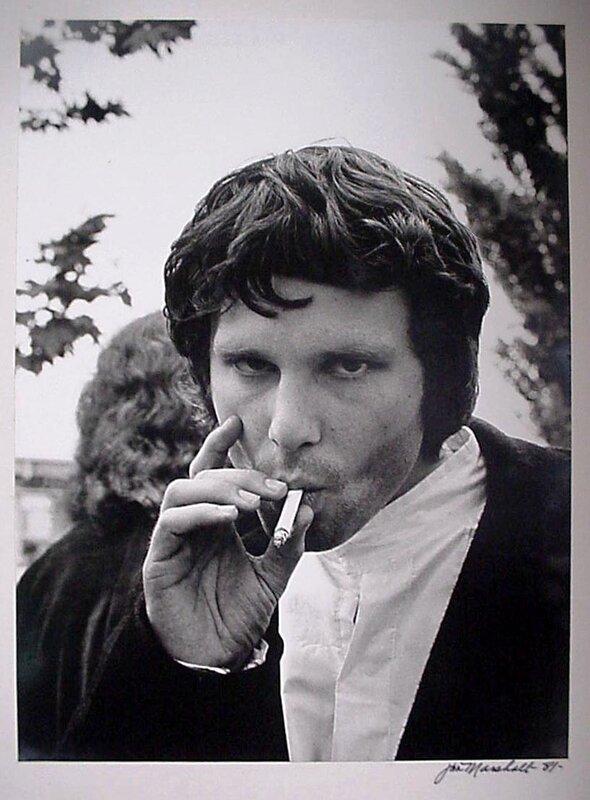 Jim Morrison,photographer Jim Marshall-