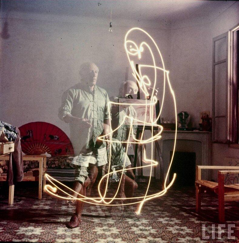 обложка журнала LIFE. Picasso