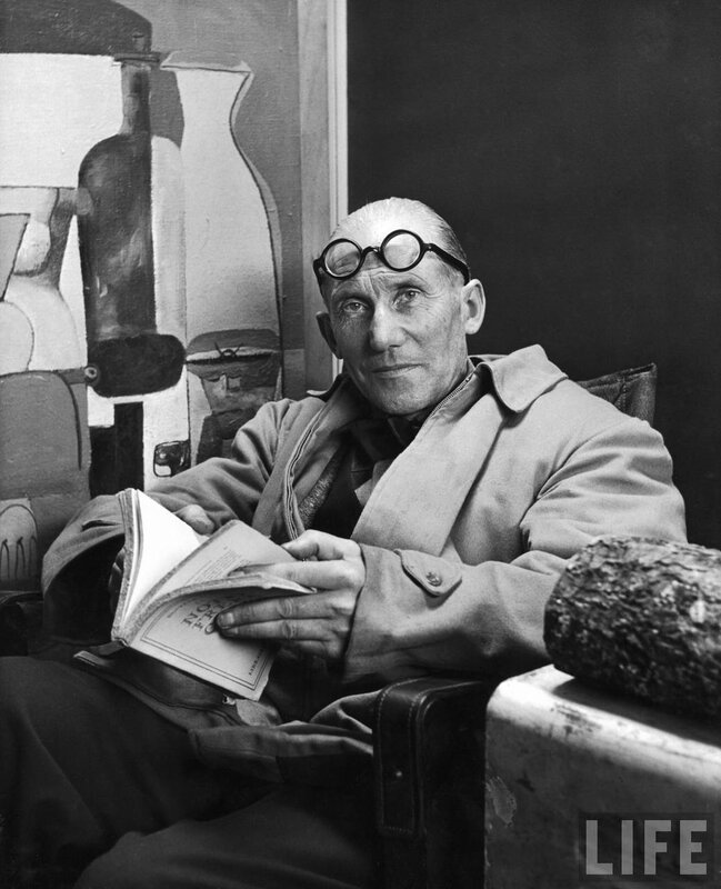 известный французский архитектор Le Corbusier,1965