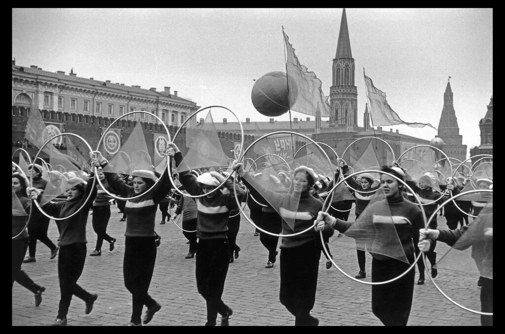 USSR. Moscow. 1957. Parade in Red Square for the 40th anniversary of the Bolshevik Revolution 6.jpg