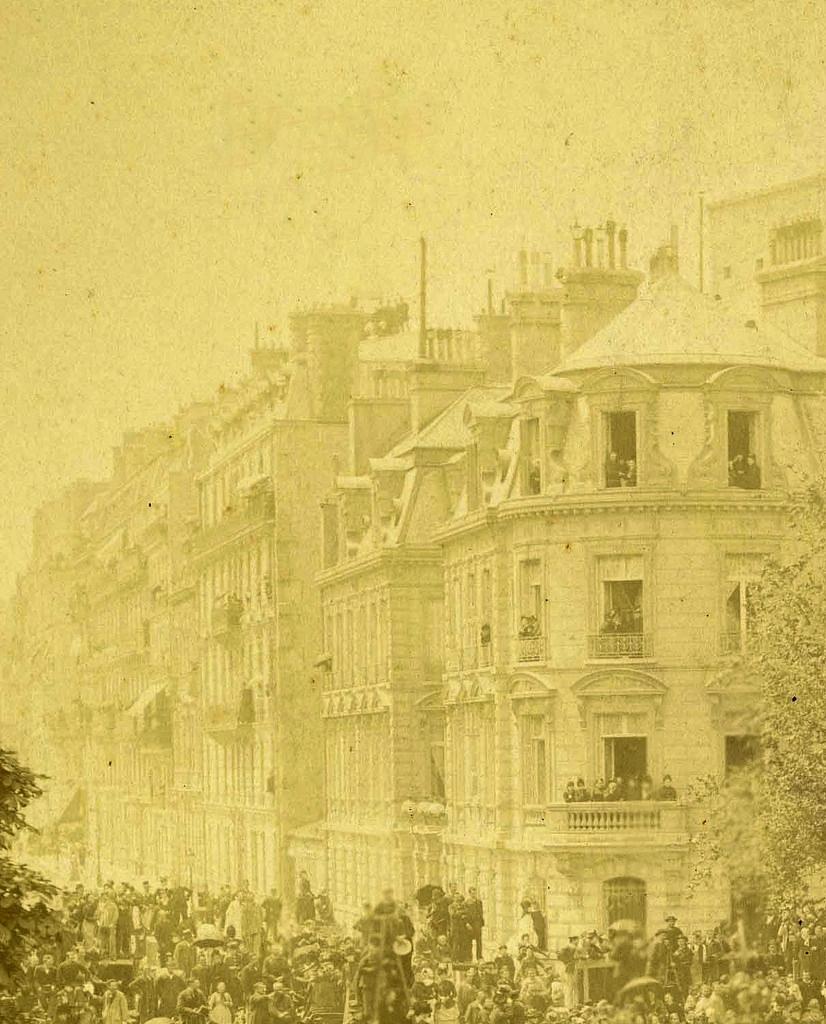 Похороны Виктора Гюго в 1885 году