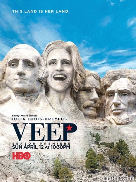 Вице (Вице-президент) (1-6 сезон: 1-58 серии из 58) / Veep / 2012-2017 / ПМ (Novamedia) / HDRip / HDTVRip