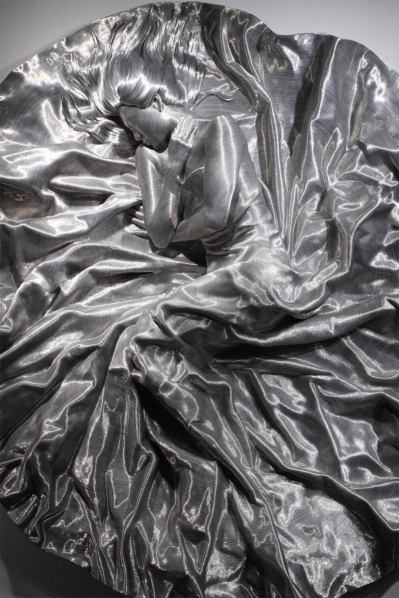 Скульптуры из алюминиевой проволоки (15 фото)