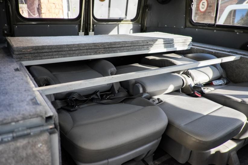 Более того, УАЗ использовался для испытаний некоторых технических решений и нового оборудования РИФ.