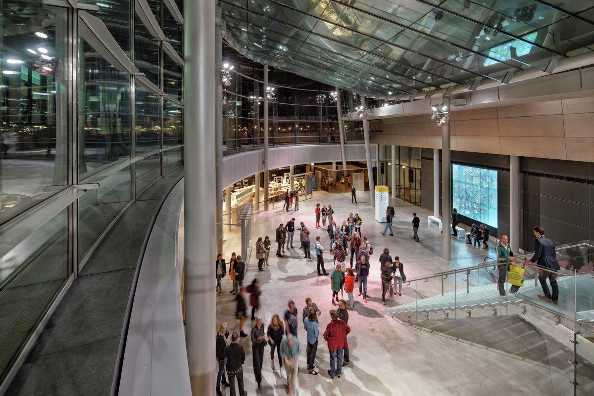 Hans van Heeswijk Architects, музей Ван Гога, реконструкция музея Ван Гона, музей Ван гога в Амстердаме, Museumplein 6 1071 DJ Amsterdam Netherlands