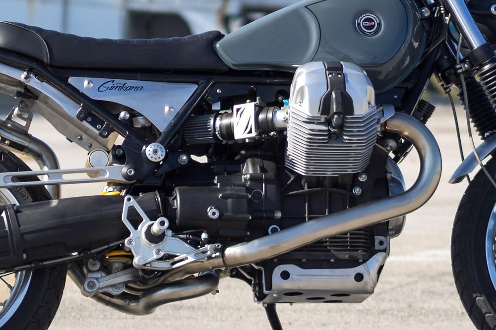Officine Rossopuro: кастом Moto Guzzi Bellagio Gimkana