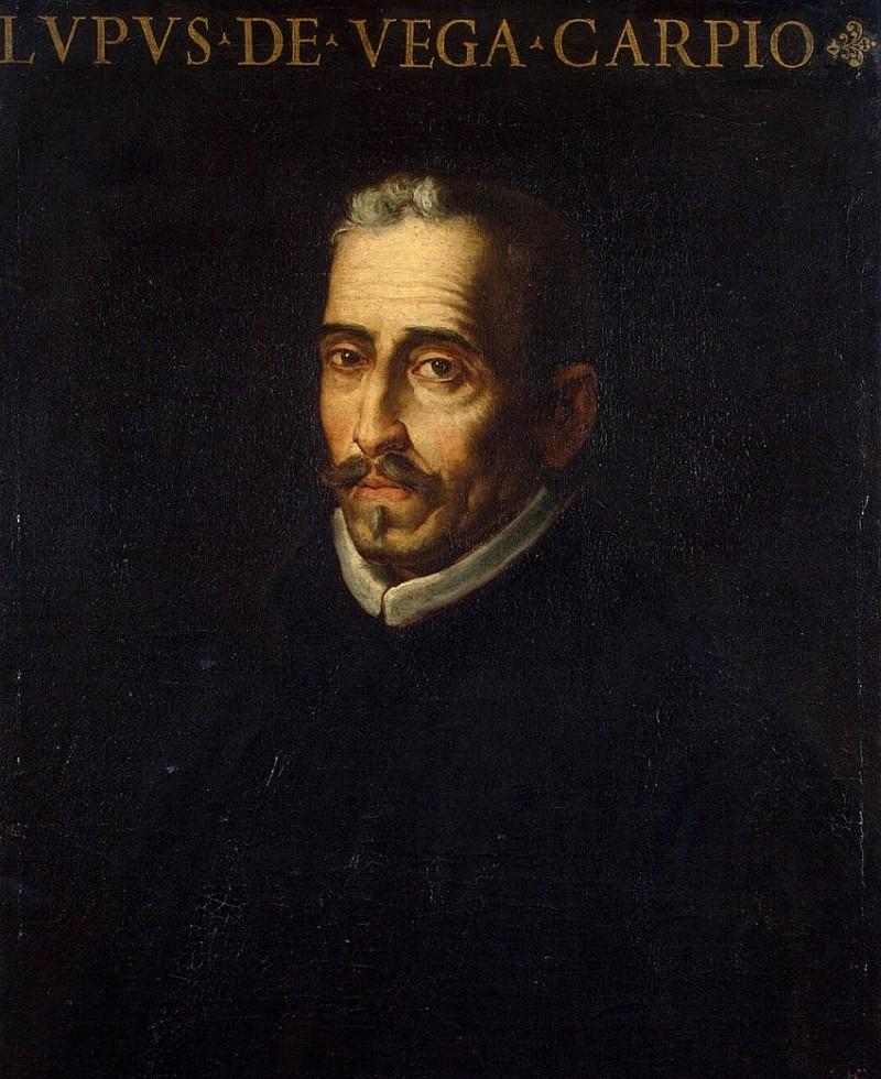Луис Тристан, Портрет Лопе де Веги, Эрмитаж