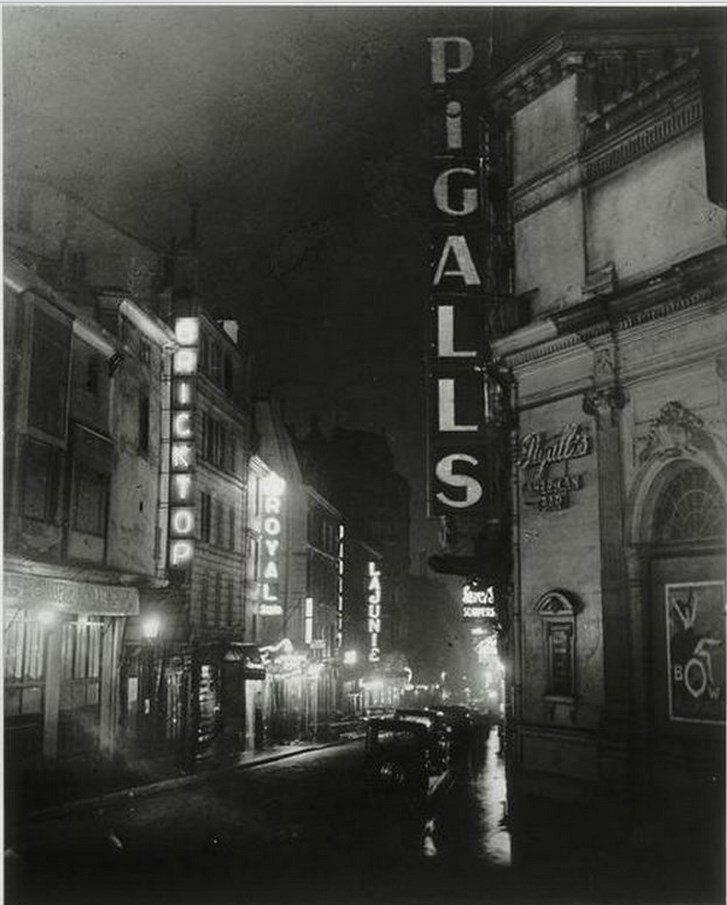 1930-1932. Пигаль