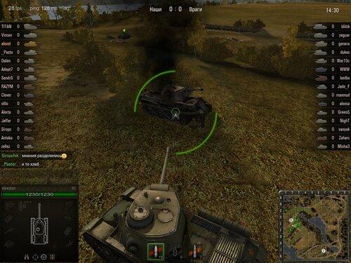 Вечно подбитый танк в Малиновке
