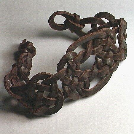 бижутерия из кожаных шнуров