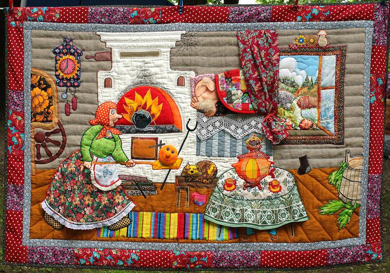 Лоскутное шитье мозаика