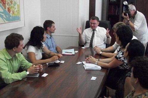 Встреча с первым заместителем главы Администрации Волгограда Соколовым С.Н.
