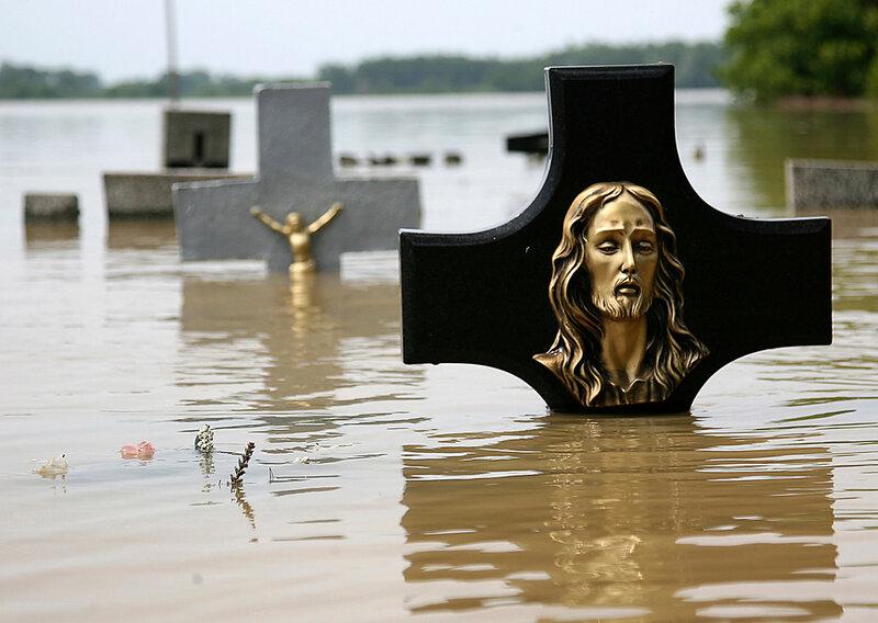 Poland Flooding. Наводнение в Польше. AP Photo/Katarzyna Mala