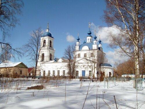 Храм пророка илии в село мамонтово
