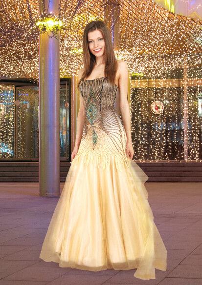 Аксессуары.  Мужские костюмы.  Вечернее платье 7030 (золотой)