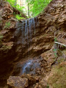 Верхний каскад водопада