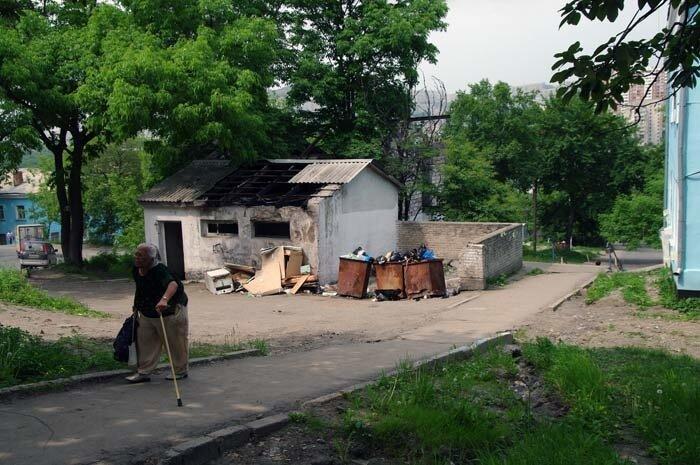 Владивосток,общественный туалет