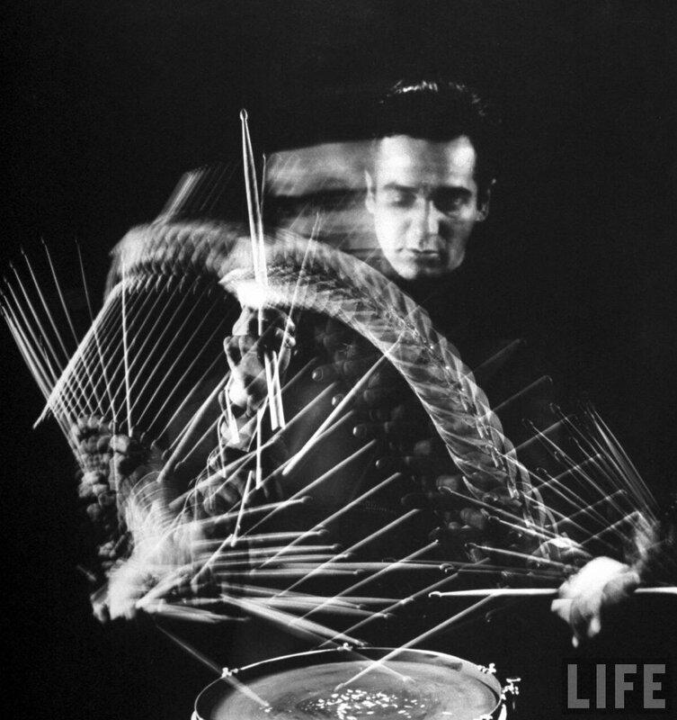 обложка журнала LIFE.Gene Krupa