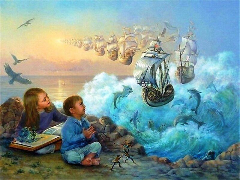 Художница Линн Лупетти. Мир сказки... (1).jpg