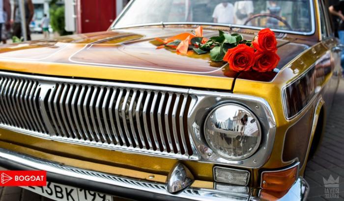 Лоурайдер ГАЗ-24 Golden rose