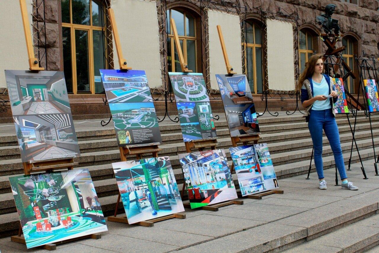 выставка дизайн крещатик киев мэрия