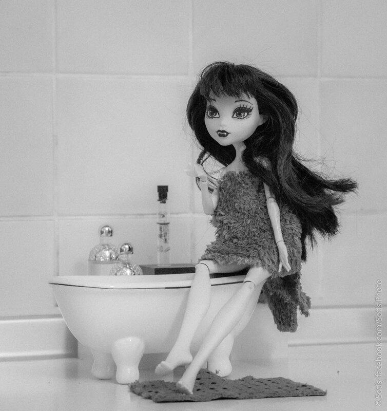 Дракулаура и ванная