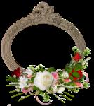 Алая и белая розы