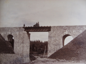 9. Построенный мост через Кривой ручей