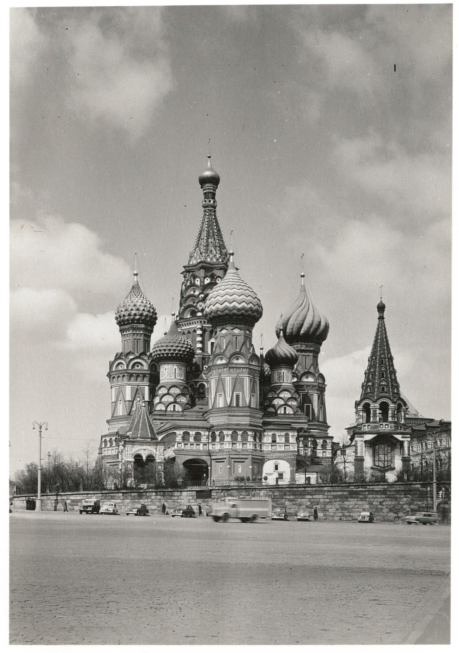 Собор Василия Блаженного.  Вид с юга