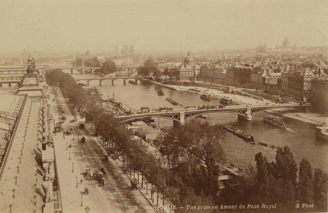 1850-е. Вид на Королевский мост