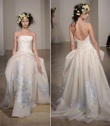 Тенденции свадебной моды на весну-лето 2011 года от Дугласа Хэннанта