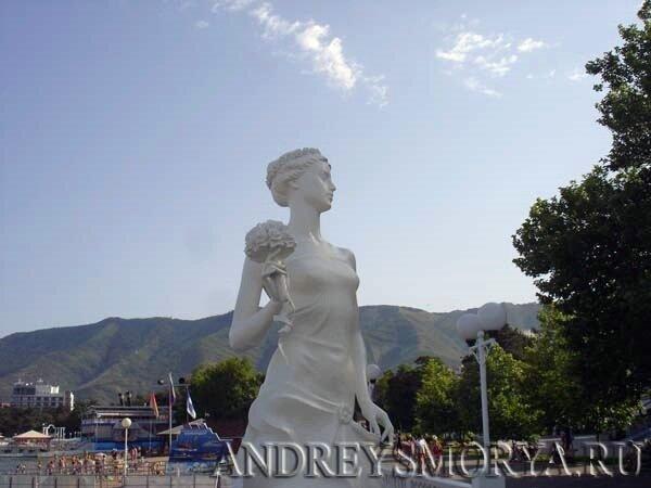 Геленджик. Белая Невеста