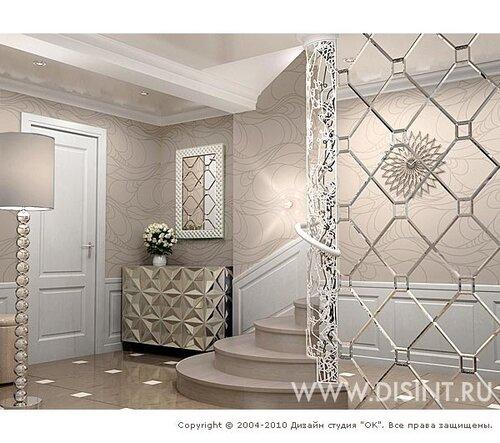 Дизайн квартиры от студии ок www disint ru