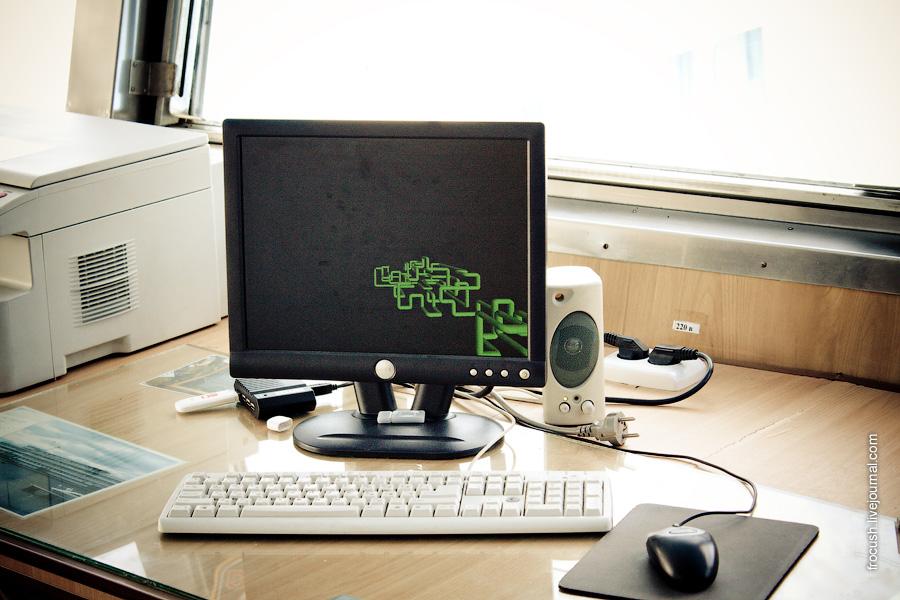 Компьютер в ходовой рубке