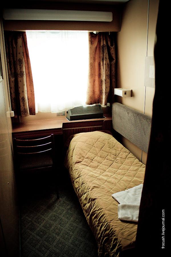 Одноместная каюта №10 на шлюпочной палубе