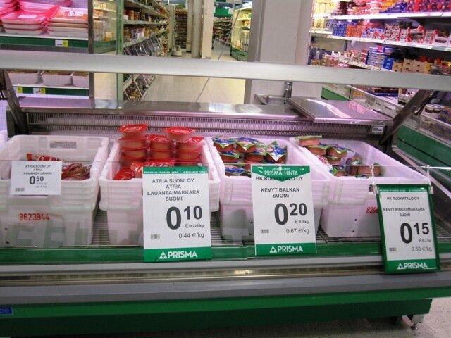 Немецкая продуктовая сеть бесплатно возит россиян за продуктами