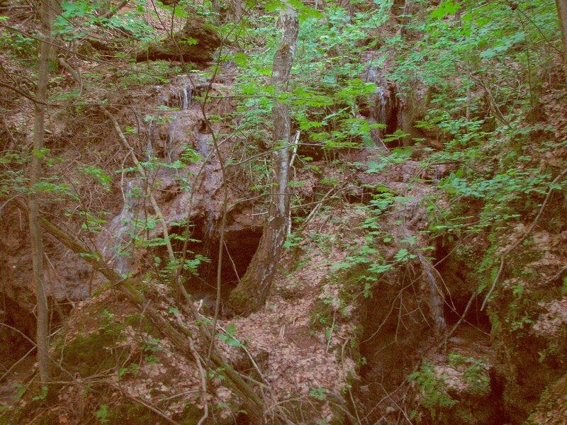 Нижние каскады водопада