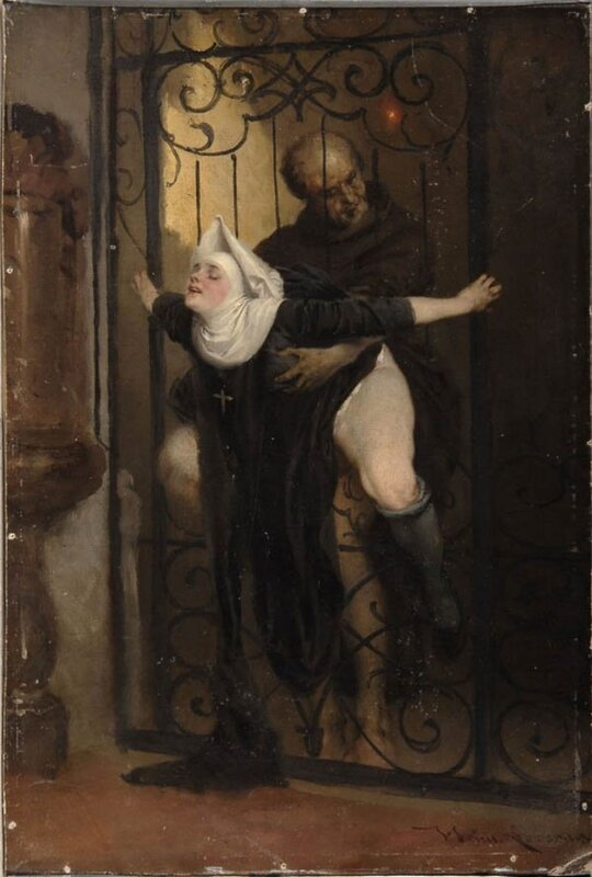 Heinrich Lossow ~ The Sin, c 1880
