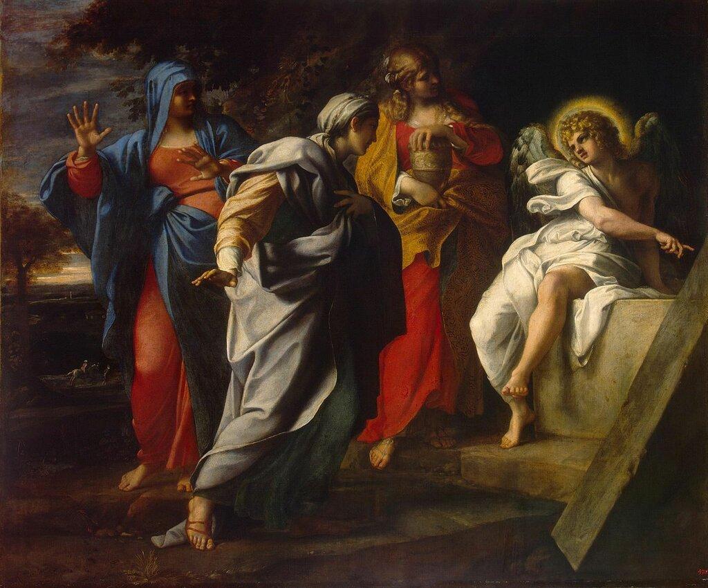 Annibale_Carracci_-_Holy_Women_at_Christ'_s_Tomb_-_WGA4454 1590-е.jpg