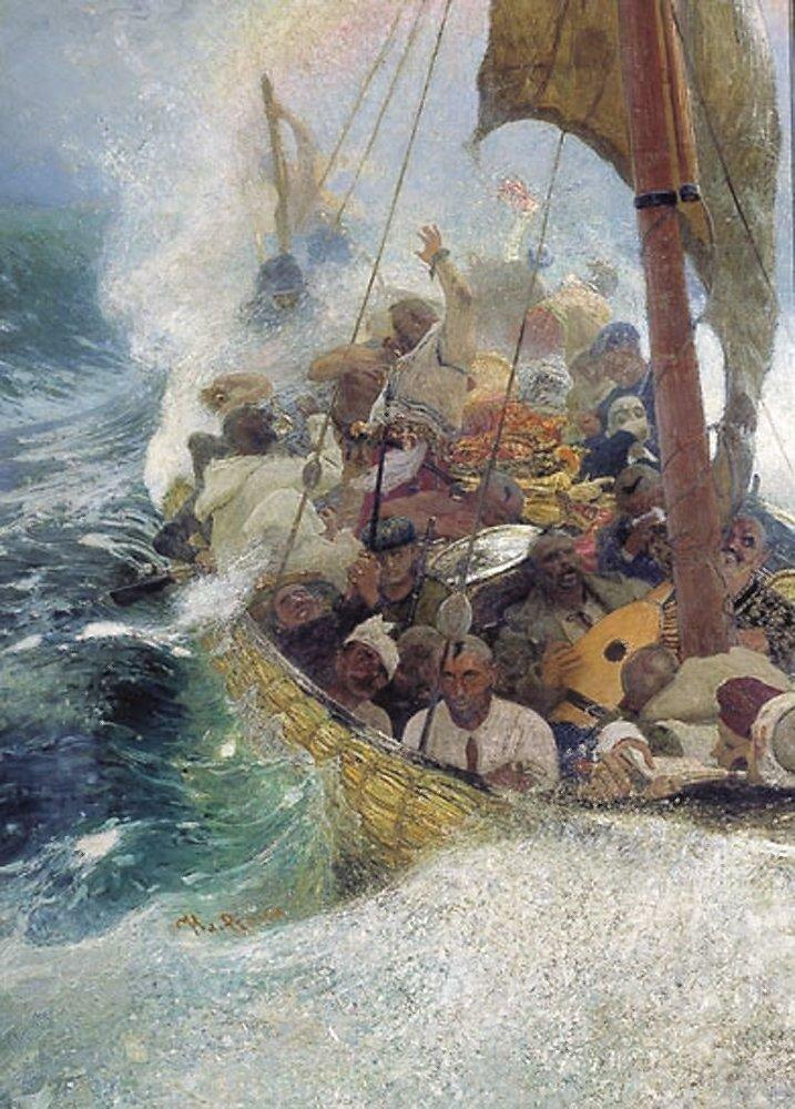 Казаки на Черном море. 1908.jpg