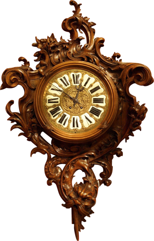dkerkhof - libby the librarian - antique carved clock.png
