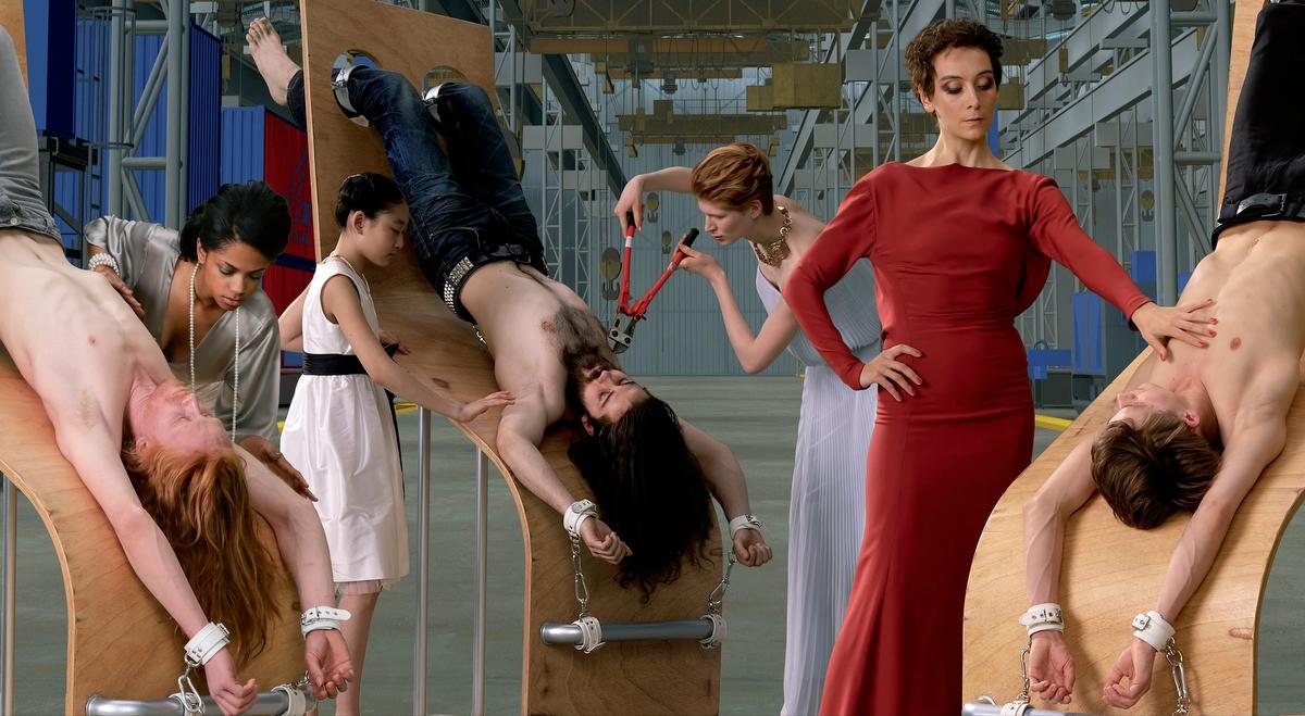 AES+F «Inverso Mundus». Специальная программа 6-й Московской биеннале. Мультимедиа Арт Музей, Москва
