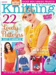 Журнал Womans Weekly Knitting & Crochet - July 2015