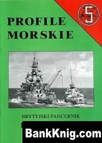 Книга BS - Profile Morskie. #005. Brytyjski pancernic HMS Warspite