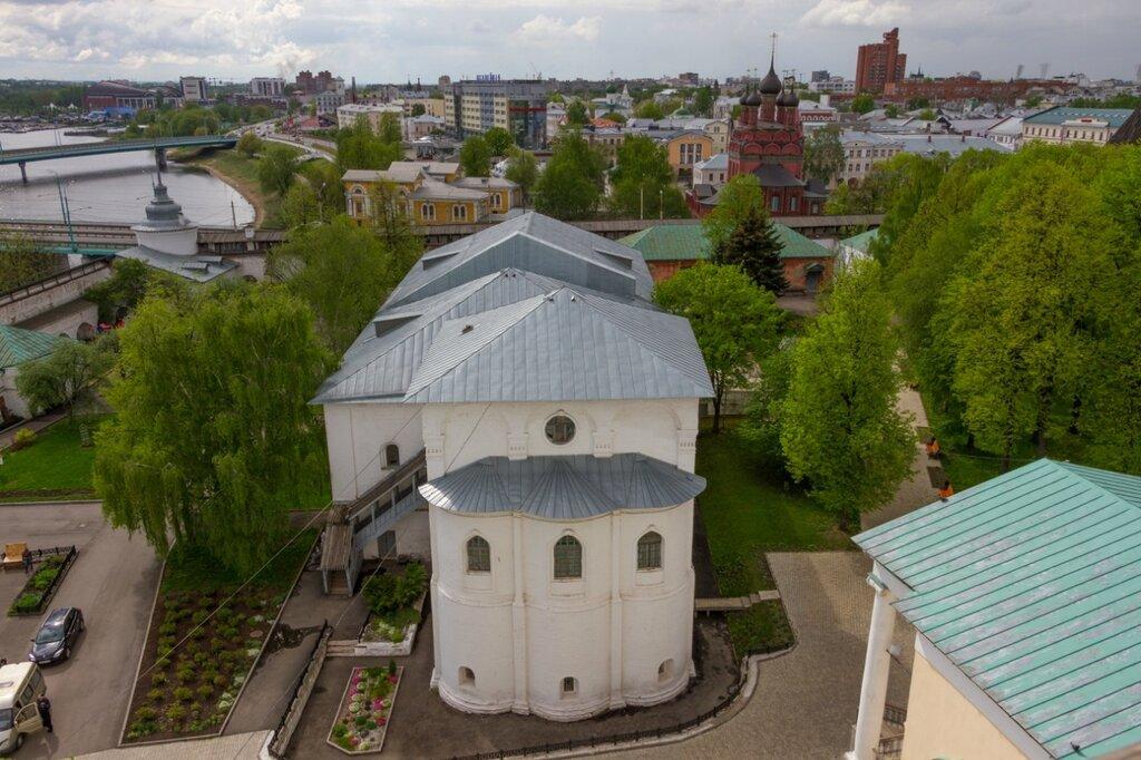 Церковь Воскресения Христова и Настоятельские покои, Спасо-Преображенский монастырь, Ярославль