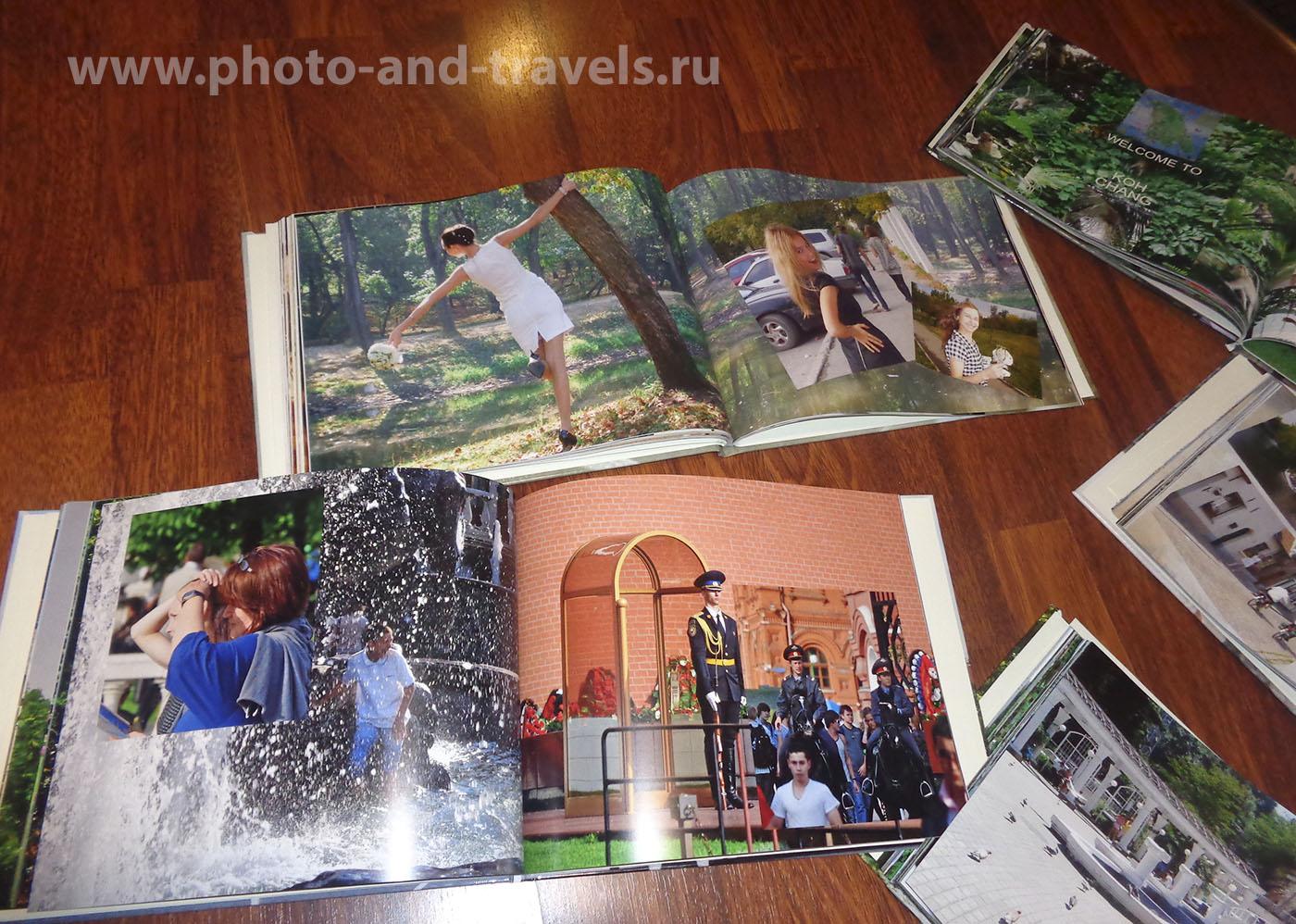 4. Создание фотокниги – отличный способ красивого хранения воспоминаний о вашем путешествии