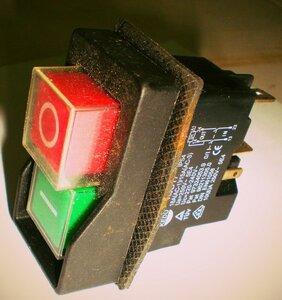 Кнопка Альтрад, Выключатель кнопка KJD17 (магнитный пускатель)