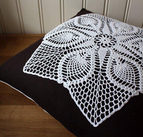 подушки хендмейд вязание крючком